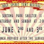 Holy Spirit Tent Revival